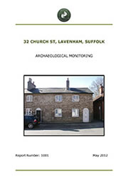 Church St Lavenham report