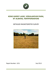 R1031 King Harry Lane, Verulamium Park